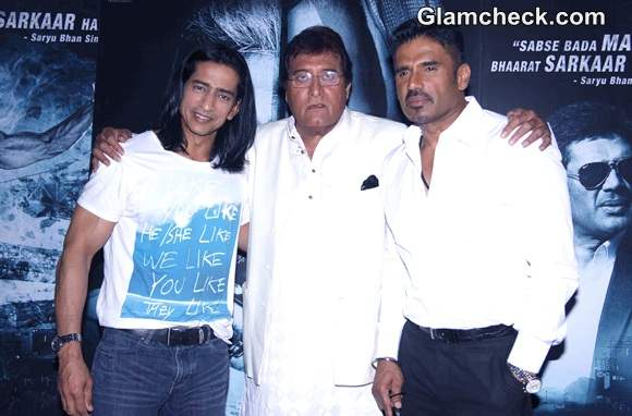 Suniel Shetty and Vinod Khanna Promote Koyelaanchal