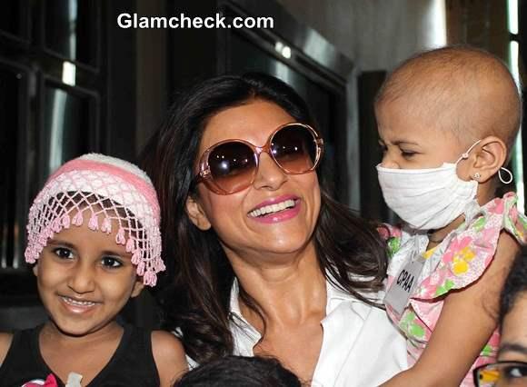 Sushmita Sen celebrates 20 years of winning Miss Universe crown with Kids