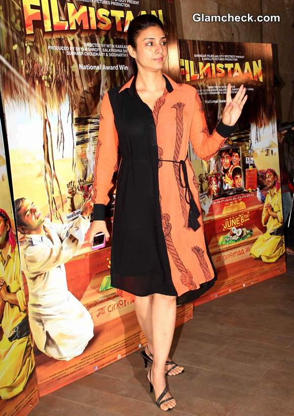 Tabu at the Special Screening of Filmistaan in Mumbai