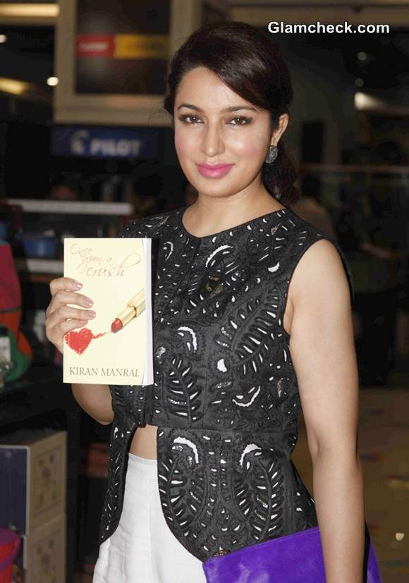 Tisca Chopra Launches Book Once Upon a Crush in AM-PM