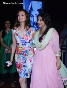 Vidya Balan and Dia Mirza at the Trailer Launch of 'Bobby Jasoos'