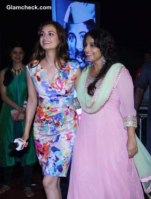 Vidya Balan and Dia Mirza at the Trailer Launch of Bobby Jasoos