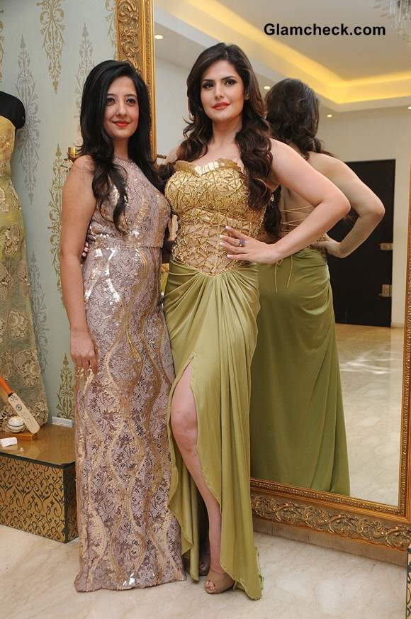 Zarine Khan Models Amy Billimorias New Eco Collection