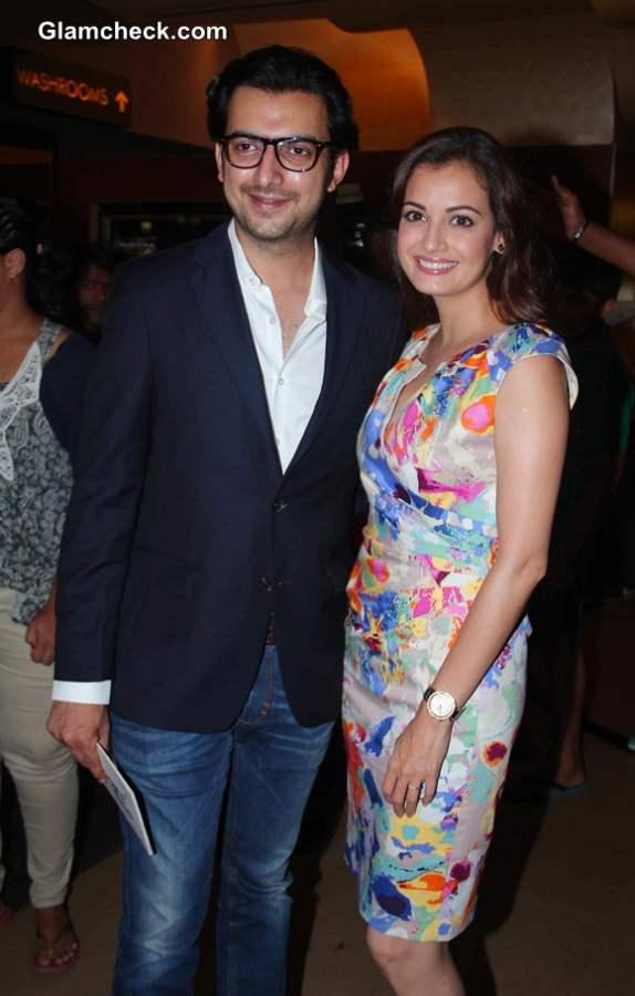 filmmaker Sahil Sangha and Dia Mirza