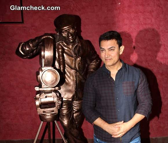 Aamir Khan 2014 Launches Documentary Chale Chalo