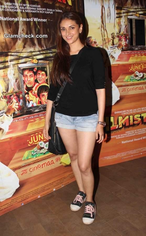 Aditi Rao Hydari at Filmistaan Screening