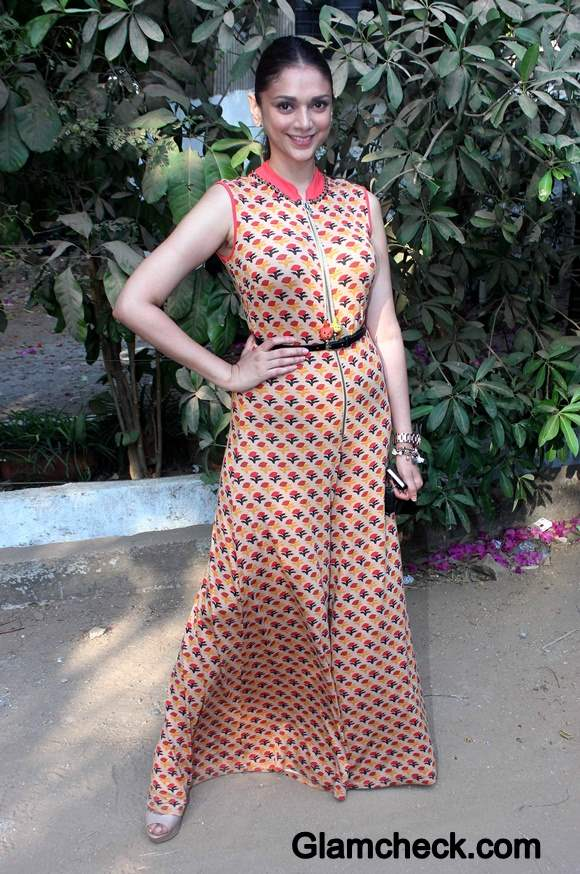 Aditi Rao Hydari in Maxi Dress 2014