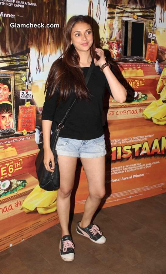 Aditi Rao Hydari in Shorts