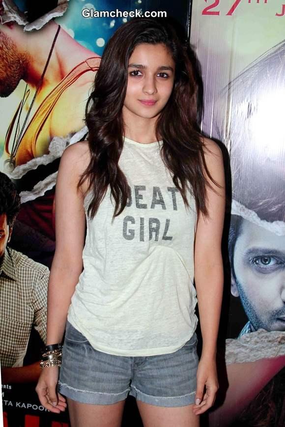 Alia Bhatt at Ek Villain Screening