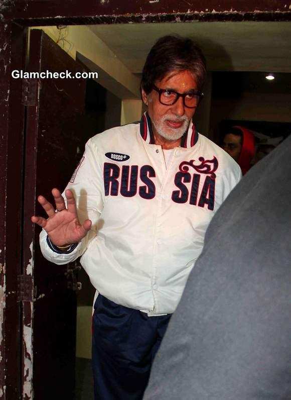 Amitabh Bachchan 2014 Casual Look