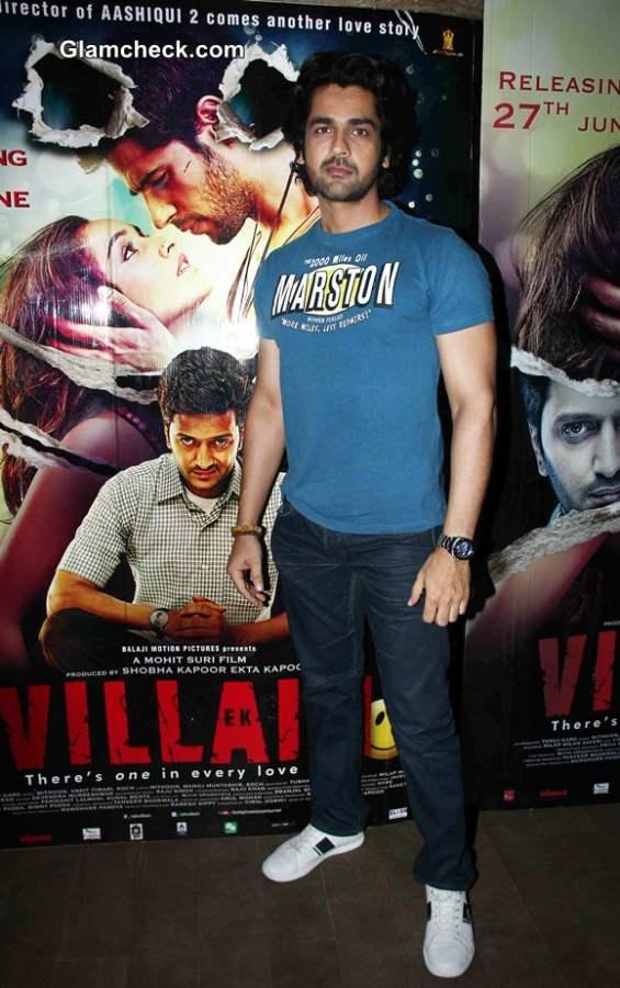 Arjan Bajwa at Special Screening of Ek Villain