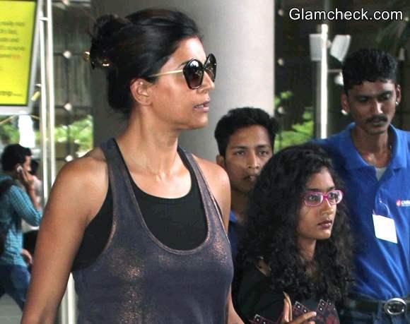 Bollywood Celebs Without Makeup Sushmita Sen