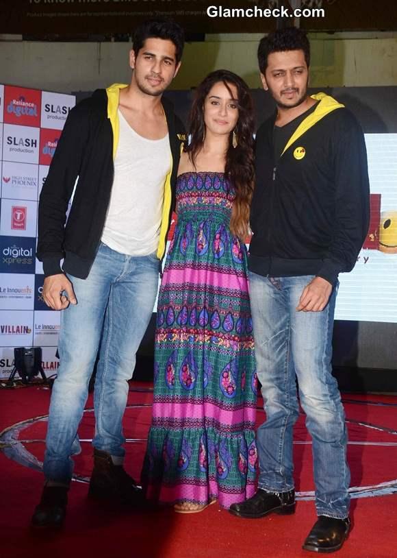 Cast of Ek Villain Promote movie in Mumbai
