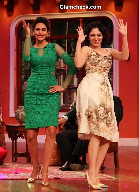 Cast of Humshakals 2014 Comedy Nights with Kapil