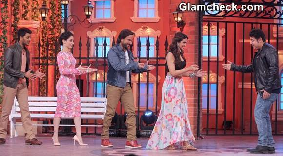 Cast of Humshakals Promote movie on Hasee House