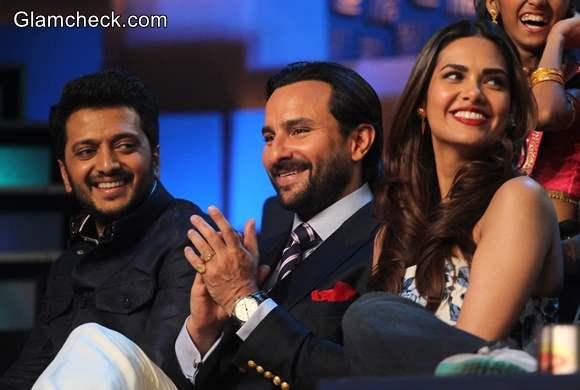 Cast of Humshakals Shake a Leg on DID Little Master