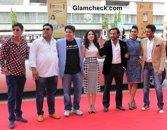 Cast of Humshakals  at Mumbai Press Conference