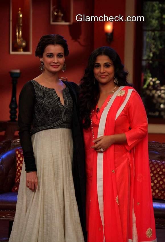 Dia Mirza and Vidya Balan Share a Laugh on Comedy Nights with Kapil
