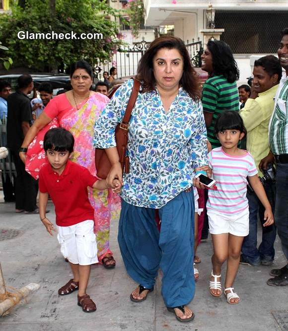 Farah Khan on Day Out With Kids