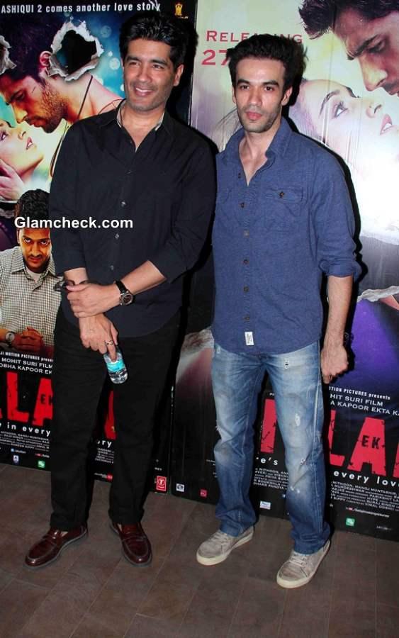 Fashion designer Manish Malhotra and Bollywood filmmaker Puneet Malhotra