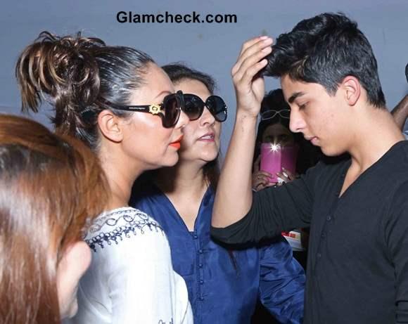 Gauri Khan with son Aryan
