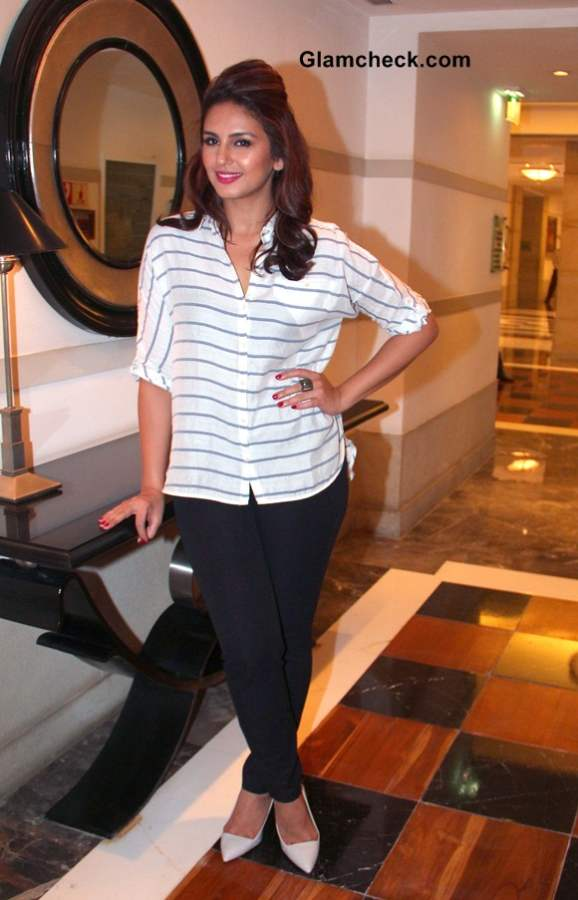 Huma Qureshi at a cooking competition held by the Malaysian Palm Oil Council