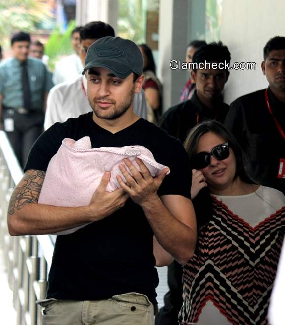 Imran Khan Avantika Blessed with Baby Girl Pics