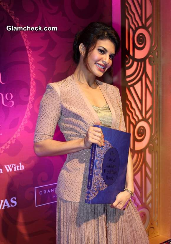 Jacqueline Fernandez at The Great Indian Wedding Book 2nd Edition