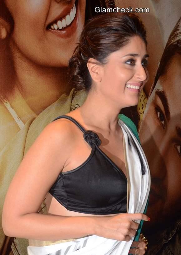 Kareena Kapoor 2014 in Sari
