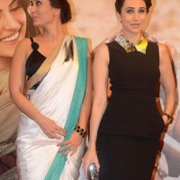 Karisma-Kareena at Lekar Hum Deewana Dil Music Launch