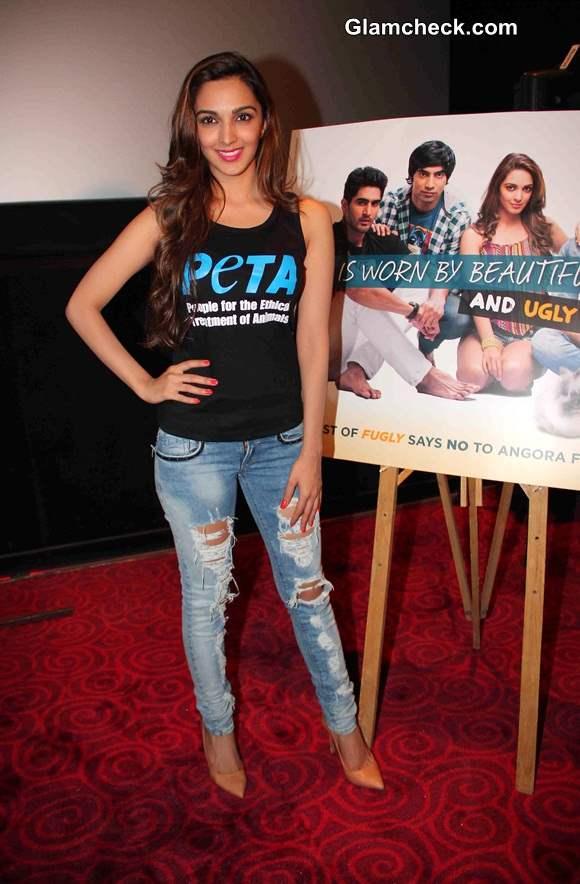Kiara Advani in Fugly movie