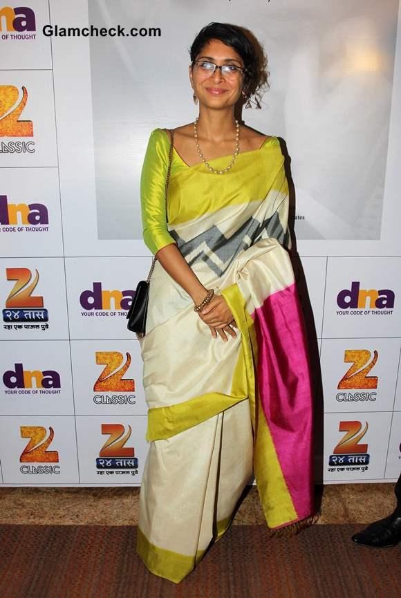 Kiran Rao 2014 in Sari