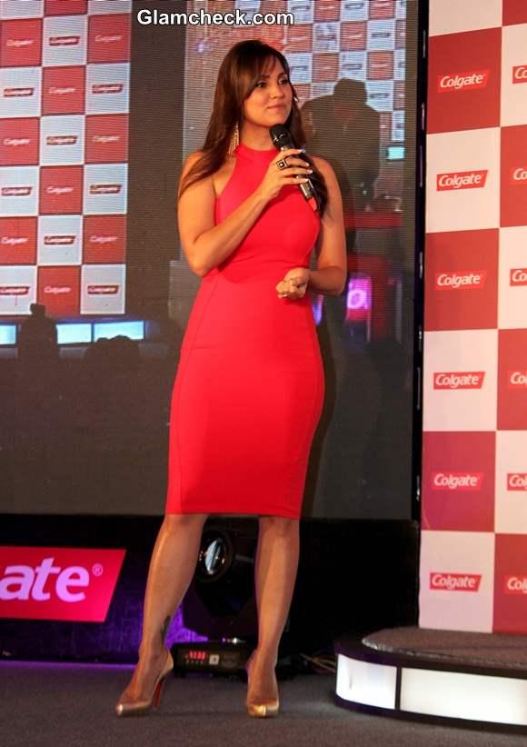 Lara Dutta 2014 at Colgate Event