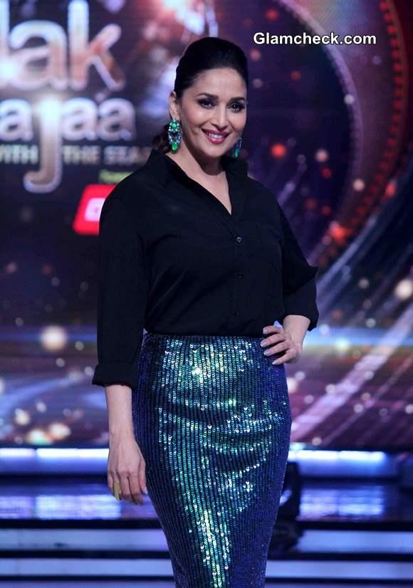Madhuri Dixit 2014 Jhalak Dikkla Season 7 Judge