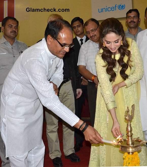 Madhuri Dixit launched Mamta Abhiyan