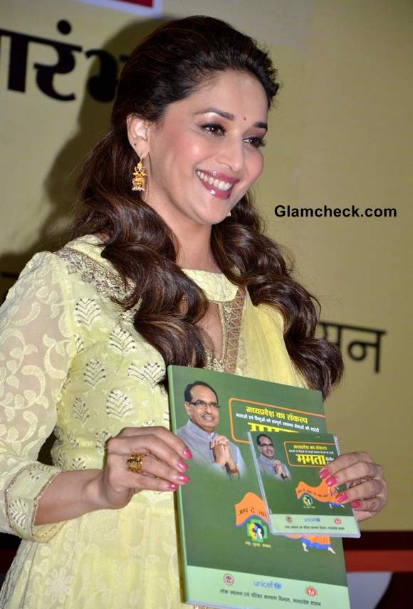 Madhuri Dixit launches Mamta Abhiyan