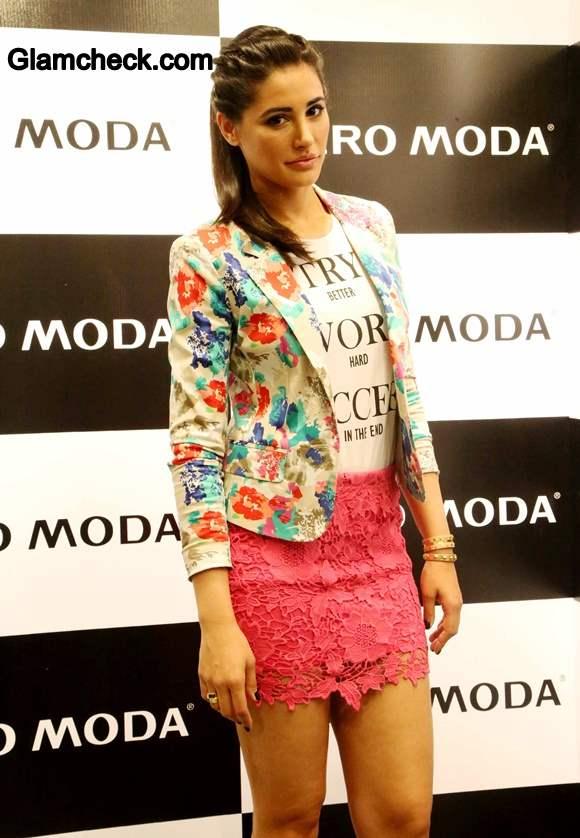 Nargis Fakhri Launches Vero Moda 2014