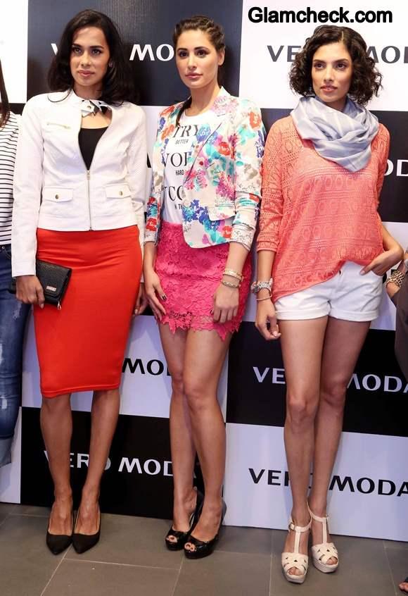 Nargis Fakhri Launches Vero Moda in Vero Moda