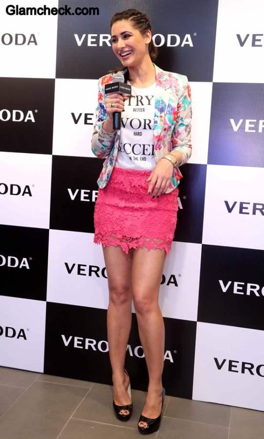 Nargis Fakhri Vero Moda Collection 2014 Launch
