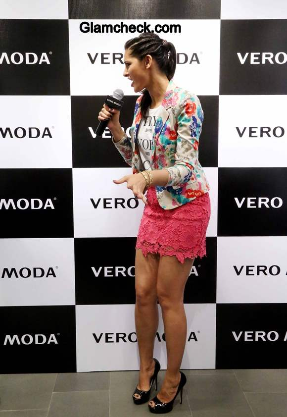 Nargis Fakhri at Vero Moda Collection 2014 Launch