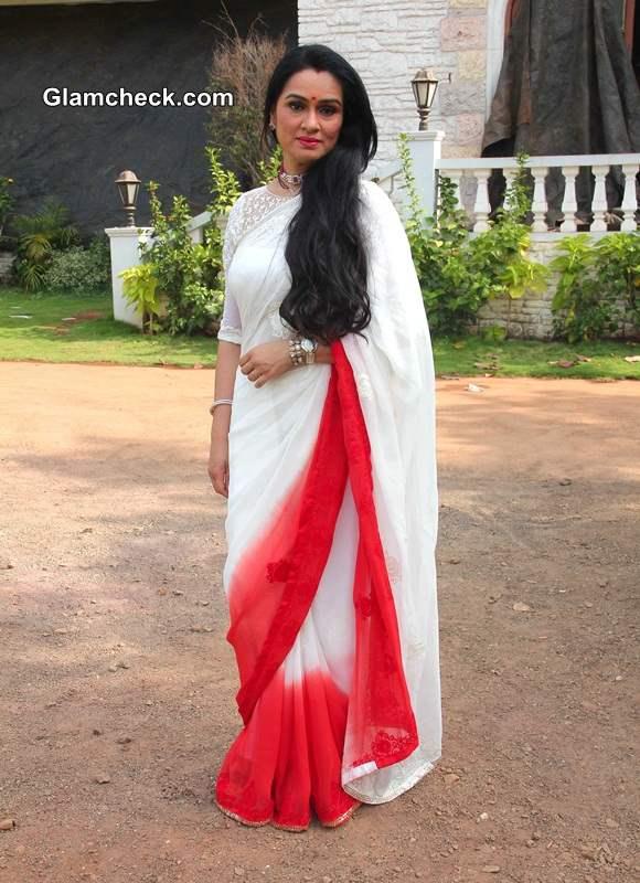 Padmini Kolhapure 2014 in TV Serial Ek Nayi Pehchaan