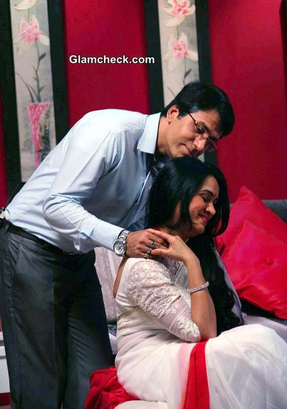 Padmini Kolhapure and Television actor Sooraj Thapar