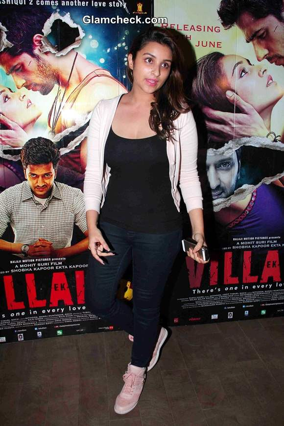 Parineeti Chopra at Ek Villain Screening