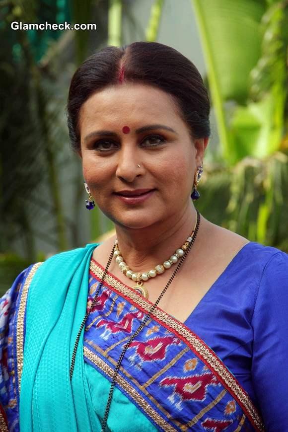 Poonam Dhillon 2014 in TV Serial Ek Nayi Pehchaan