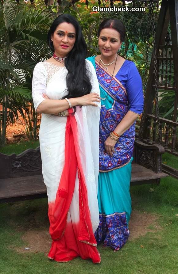 Poonam Dhillon Padmini Kolhapure in TV Serial Ek Nayi Pehchaan