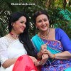 Poonam Dhillon and Padmini Kolhapure Shoot for TV Serial Ek Nayi Pehchaan