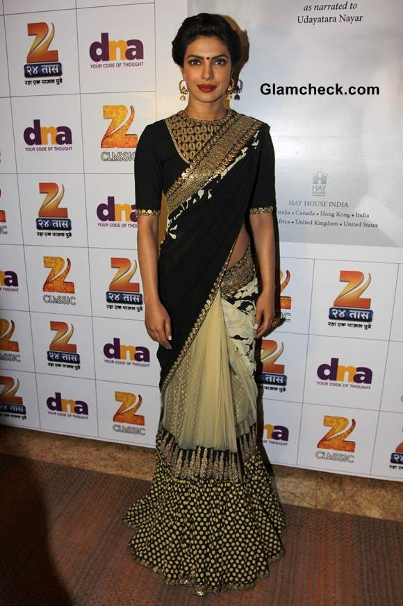 Priyanka Chopra 2014 at Dilip Kumars Autobiography Launch