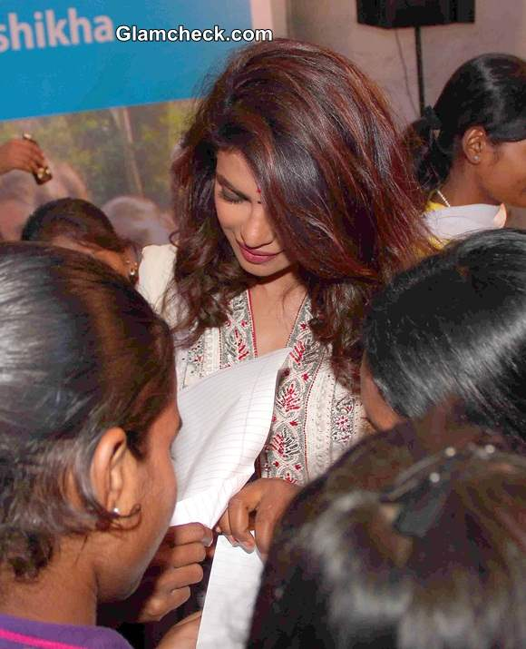 Priyanka Chopra on Day Out with NGO Kids