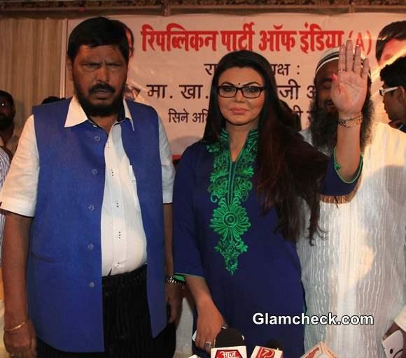 Rakhi Sawant Joins Republican Party of India