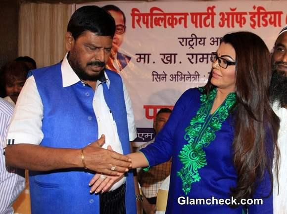 Rakhi Sawant member of Republican Party of India